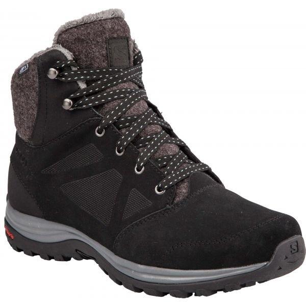 Černé dámské zimní boty Salomon - velikost 36 2/3 EU