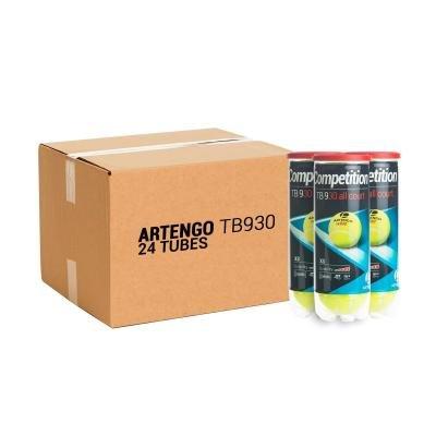 Žlutý tenisový míček TB 930, Artengo - 72 ks