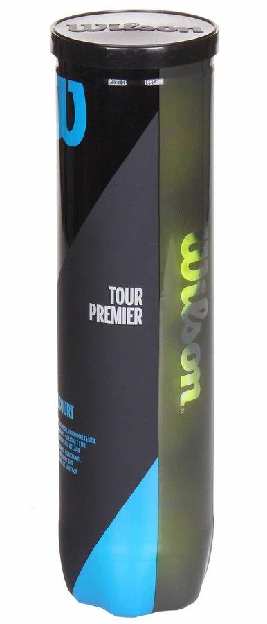 Tenisový míček - Tour Premier tenisové míče balení: 4 ks