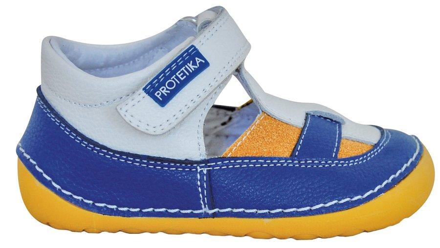 Modro-šedé sandály Protetika