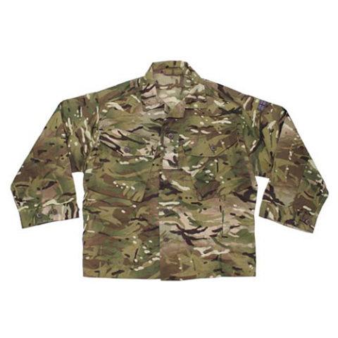 Taktická košile - Košile britská model Barrack MTP CAMO