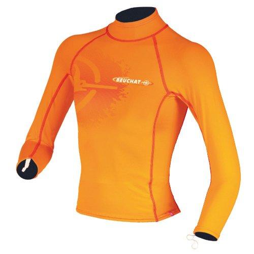Oranžové dětské lycrové tričko RASH GUARD, Beuchat