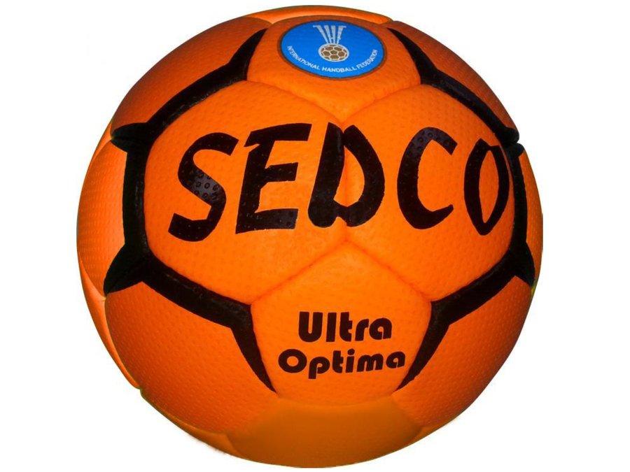 Modro-oranžový míč na házenou ULTRA OPTIMA, Sedco - velikost 1