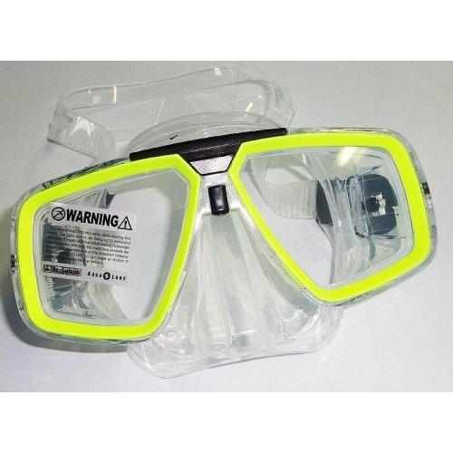 Žlutá potápěčská maska Look transparent, TECHNISUB
