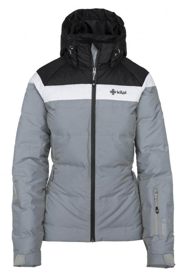 Černo-šedá zimní dámská bunda Kilpi