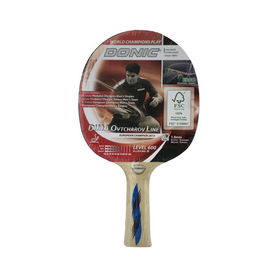 Pálka na stolní tenis Ovtcharov 600, Donic