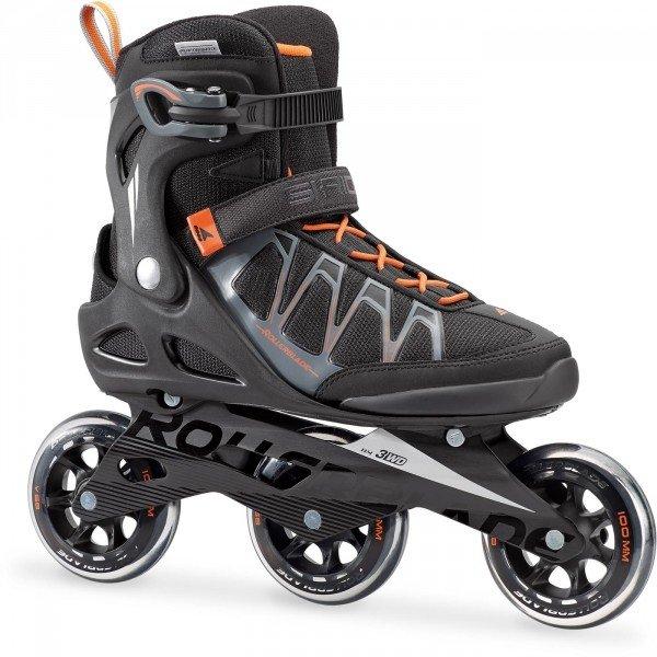 Černé pánské kolečkové brusle Rollerblade - velikost 45 EU