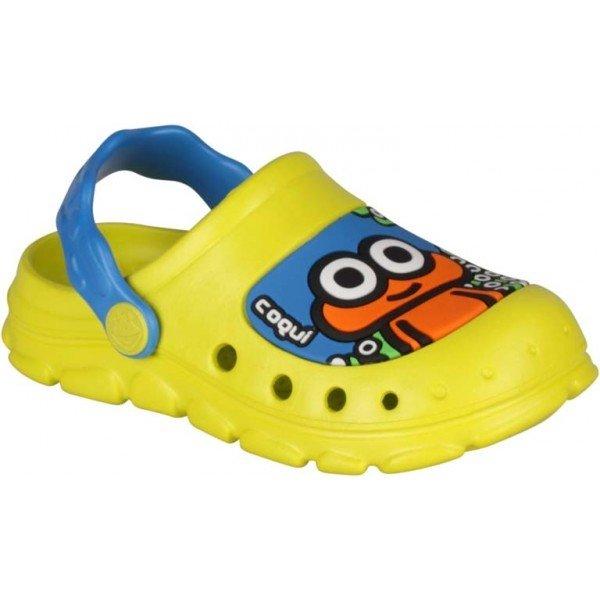 Žluté dětské sandály Coqui