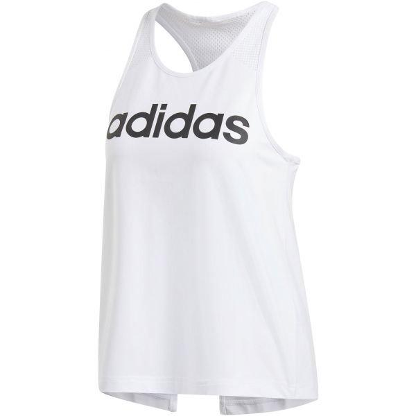 Bílé dámské tílko Adidas - velikost M