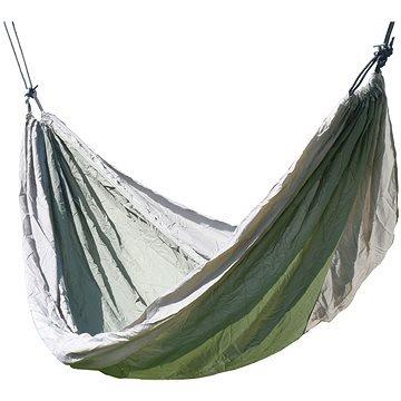 Hnědo-zelená houpací síť pro 1 osobu Cattara