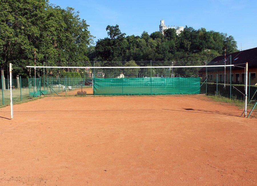 Volejbalová síť s lankem Pokorný sítě
