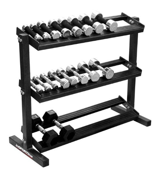 Stojan na činky inSPORTline - nosnost 250 kg