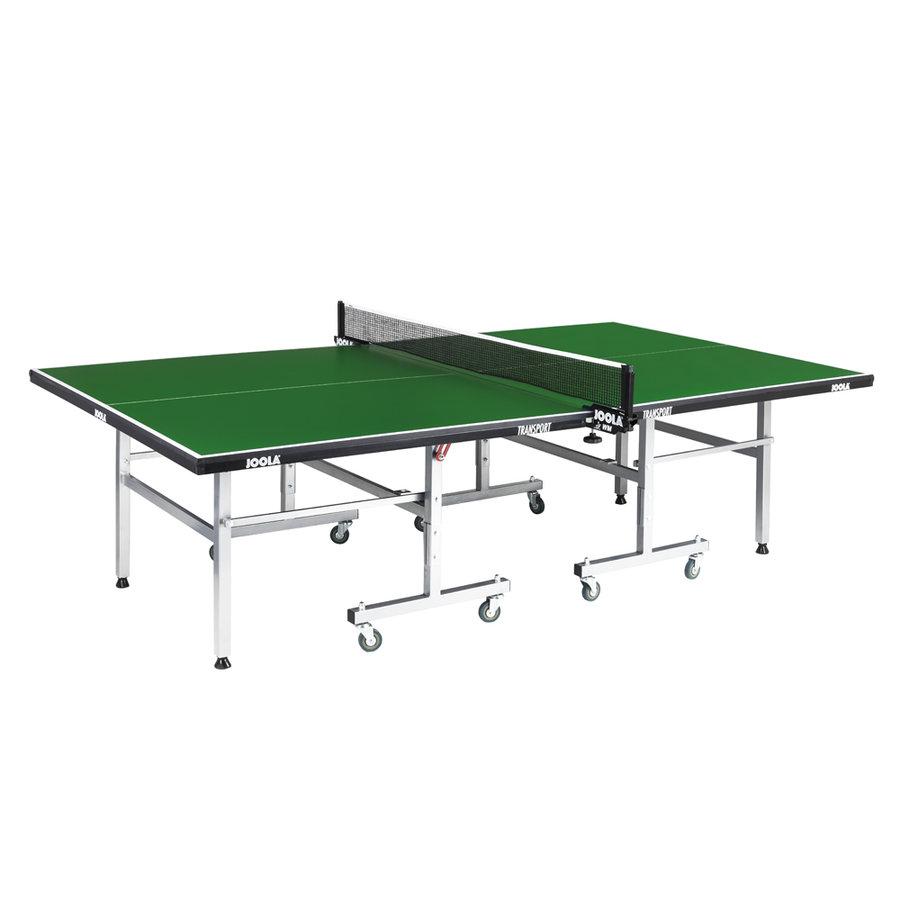 Zelený vnitřní stůl na stolní tenis Transport, Joola