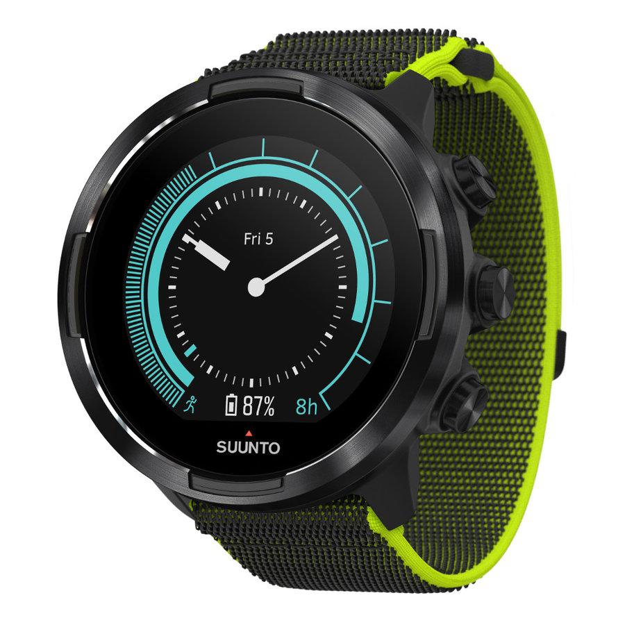 Zelené sportovní hodinky SUUNTO 9, Suunto