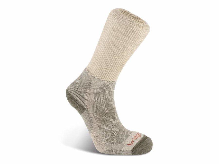 Béžové pánské trekové ponožky Bridgedale