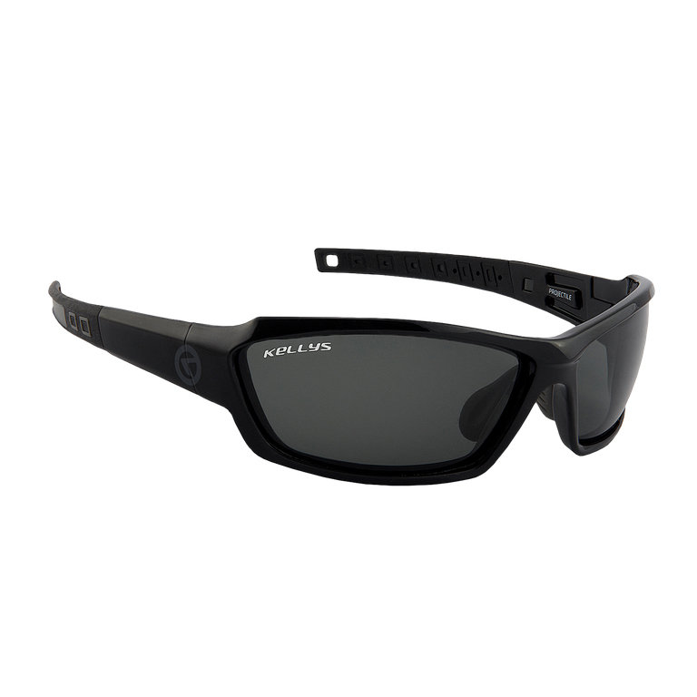 Černo-šedé cyklistické brýle Projectile, Kellys