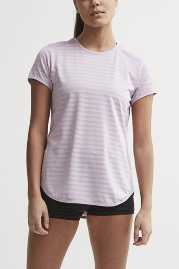 Fialové dámské tričko s krátkým rukávem Craft