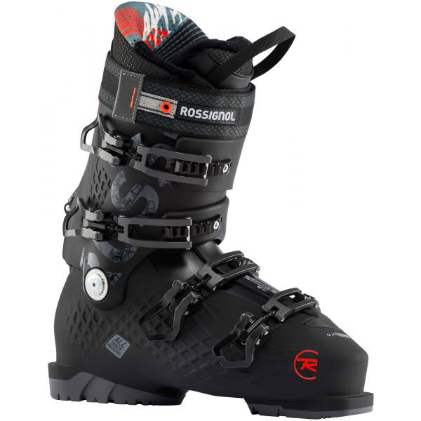 Černé pánské lyžařské boty Rossignol - velikost vnitřní stélky 31 cm