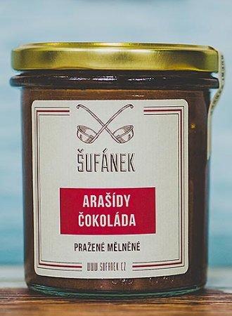 Máslo - Šufánek Arašídovo-čokoládové máslo 330 g