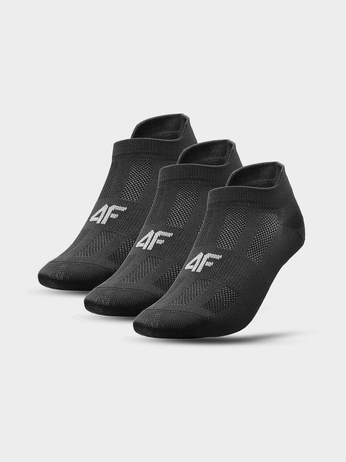 Černé dámské ponožky 4F
