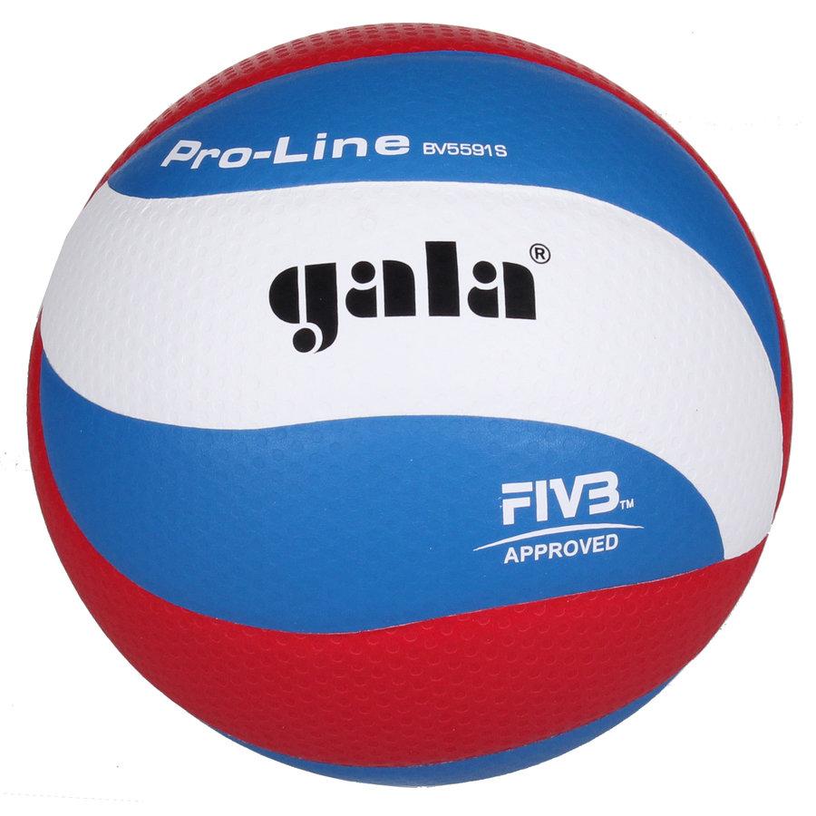 Různobarevný volejbalový míč BV5591S, Gala - velikost 5