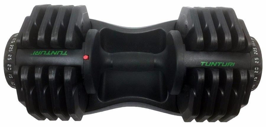 Nakládací činka - Variabilní jednoruční činka 2,5-25 kg TUNTURI