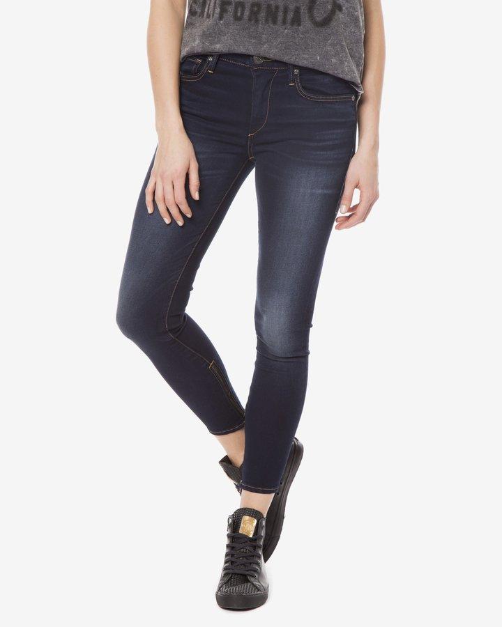 Modré dámské džíny True Religion - velikost 28