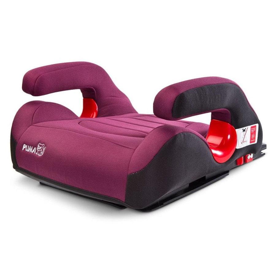 Růžová dětská autosedačka Puma Isofix, Caretero - nosnost 36 kg