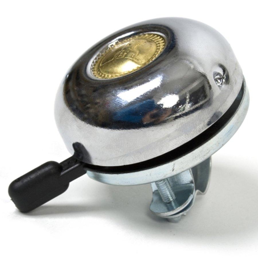 Stříbrný zvonek na kolo Maxbike