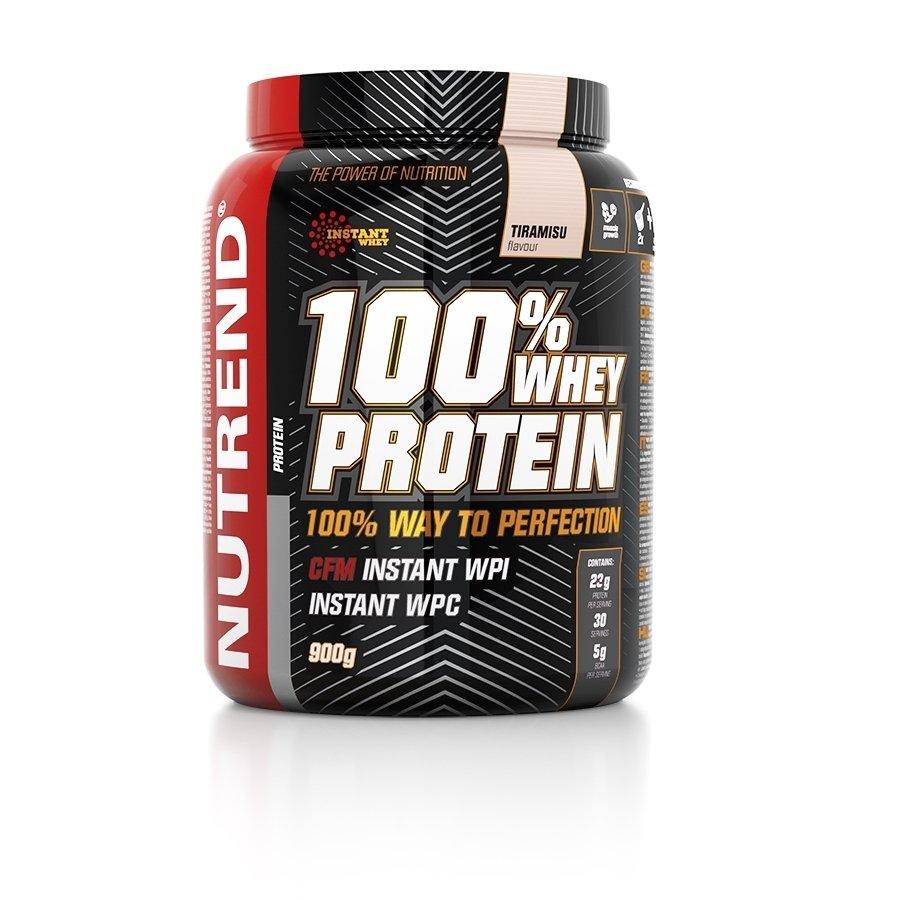 Syrovátkový protein 100% WHEY Protein, Nutrend - 900 g