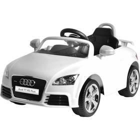 Bílé dětské elektrické autíčko Audi TT, Buddy Toys