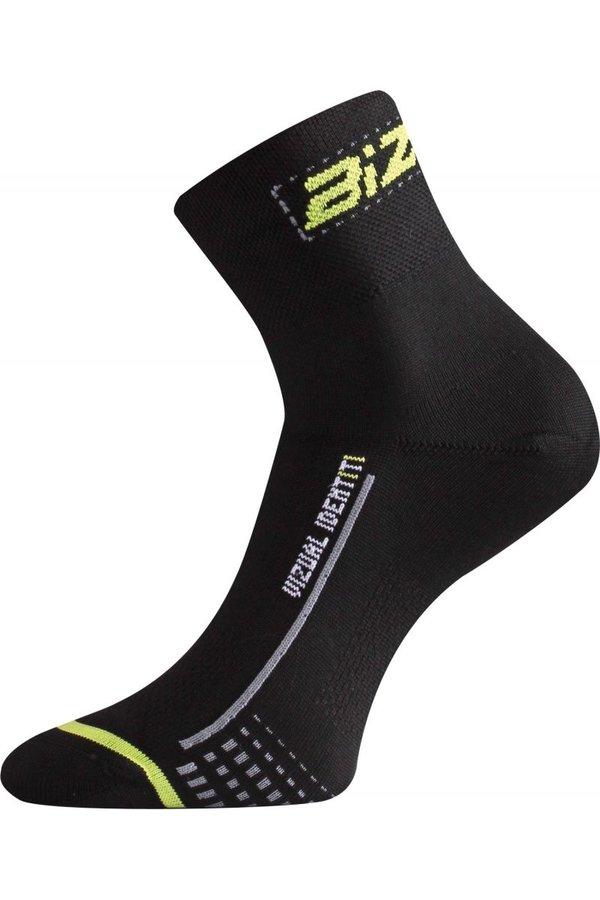 Černé pánské cyklistické ponožky Lasting