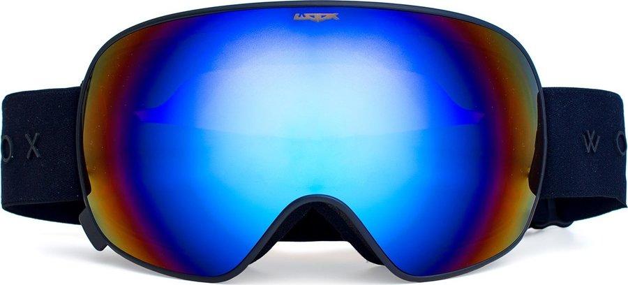 Černé lyžařské brýle Woox