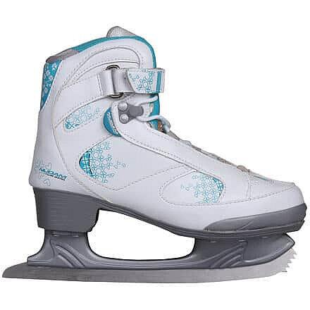 Lední brusle - Soft dámské brusle velikost (obuv / ponožky): 38
