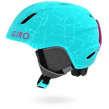 Modrá dětská lyžařská helma Giro - velikost 52-55,5 cm