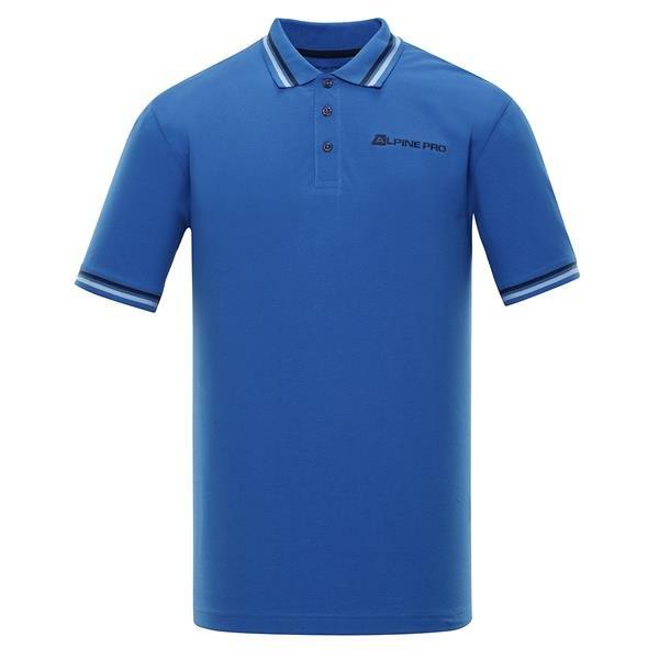 Modrá pánská polokošile s krátkým rukávem Alpine Pro - velikost M