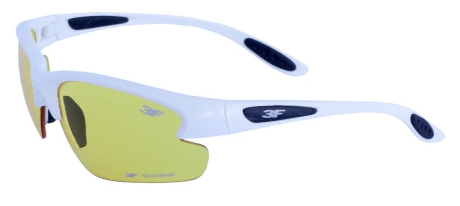 Polarizační brýle - Polarizační brýle 3F Photochromic Barva obrouček: bílá
