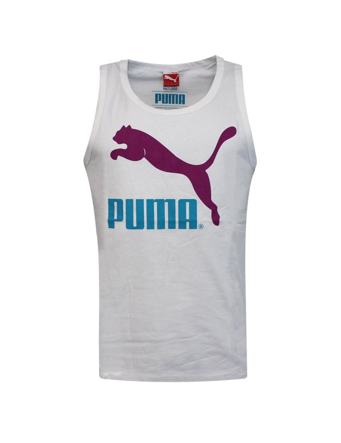 Bílé pánské tílko Puma