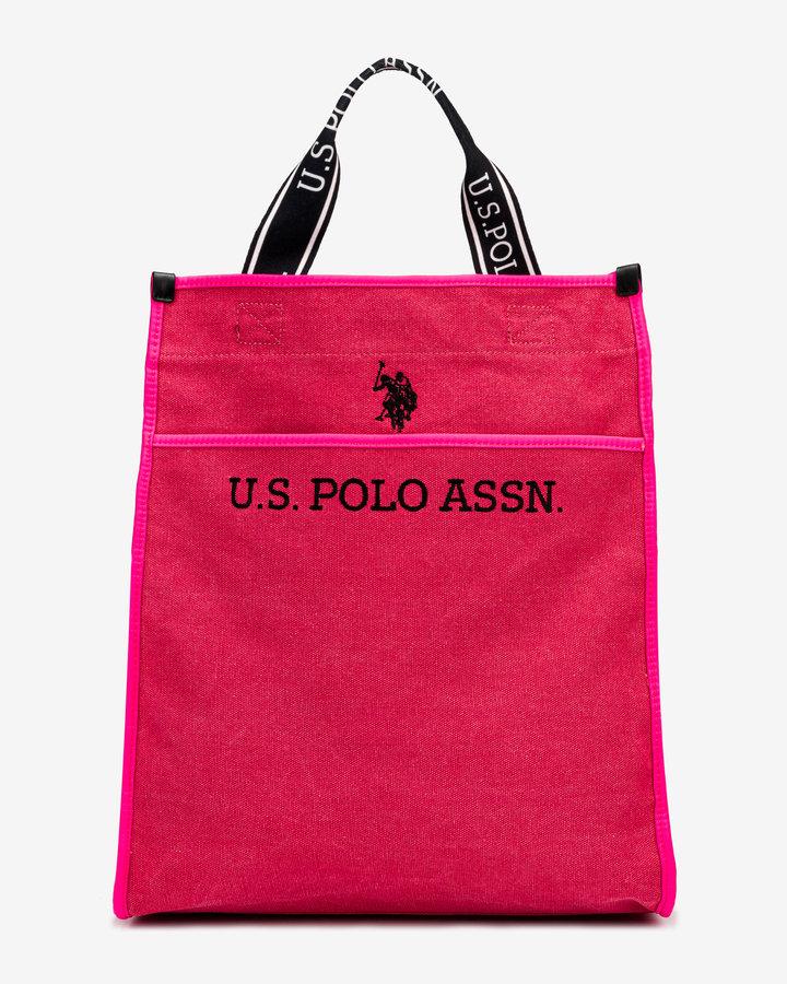 Růžová dámská kabelka U.S. Polo ASSN