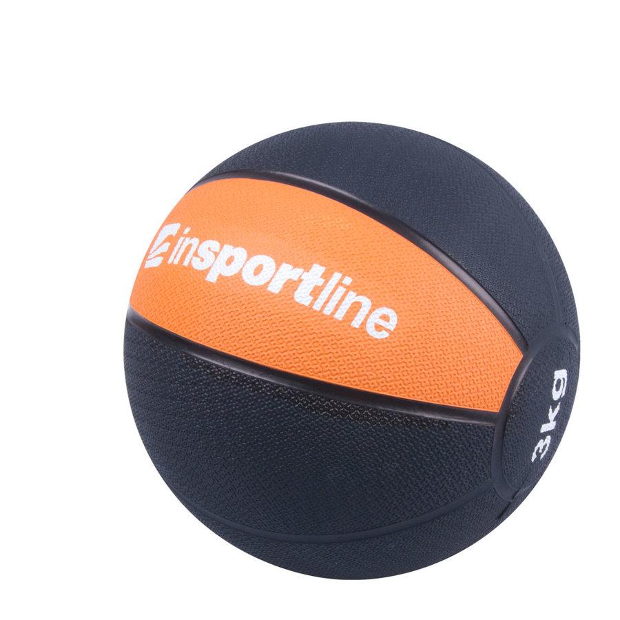 Medicinbal bez úchopů inSPORTline - 3 kg