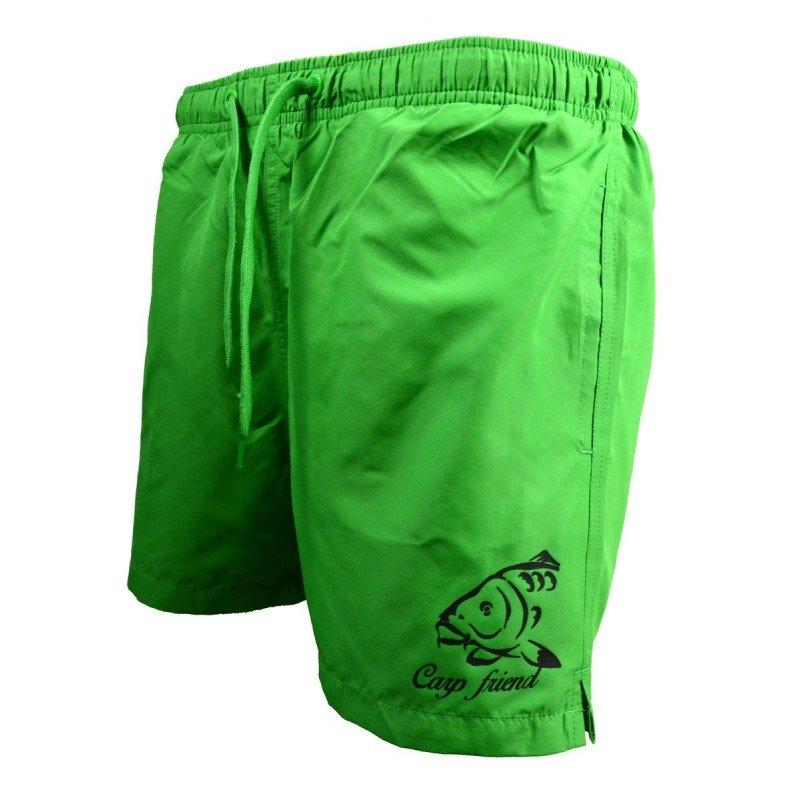 Zelené pánské koupací kraťasy Carp Friend, R-Spekt