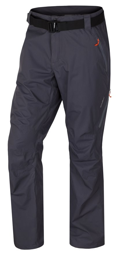 Černé pánské turistické kalhoty Husky - velikost XXL