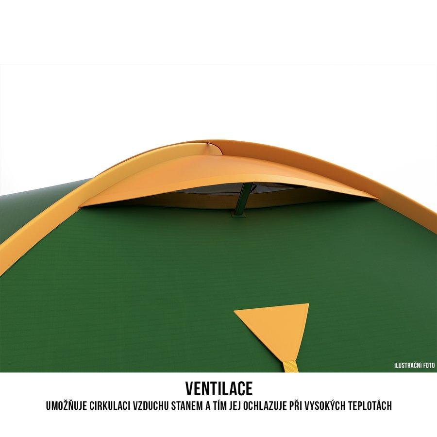 Stan - Husky Stan Outdoor Bizon 4 classic zelená