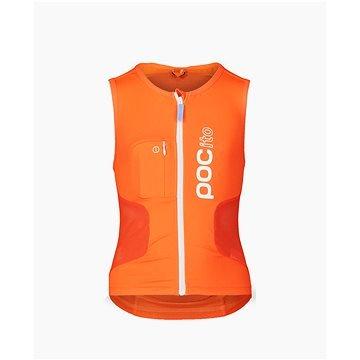 Oranžový dětský chránič páteře na lyže POC - velikost S