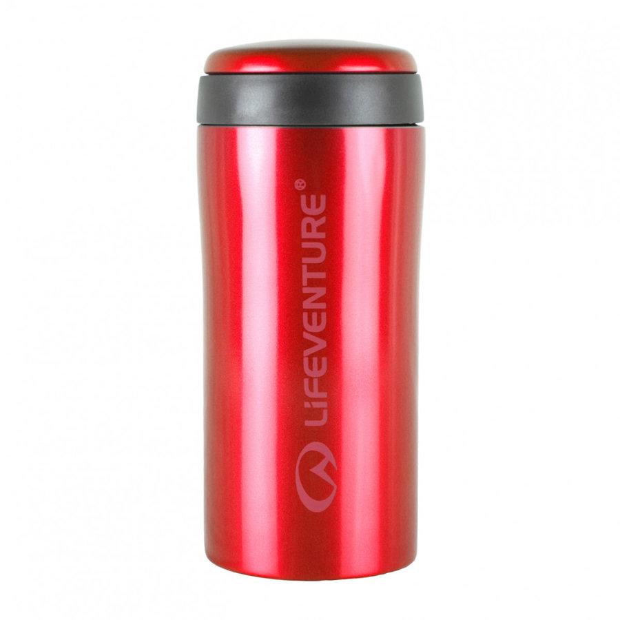 Červená termoska na pití Lifeventure - objem 0,3 l