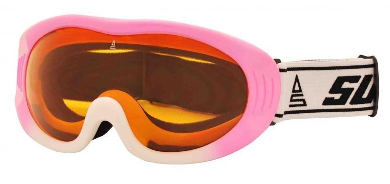 Lyžařské brýle - Sulov RIPE růžová brýle sjezdové