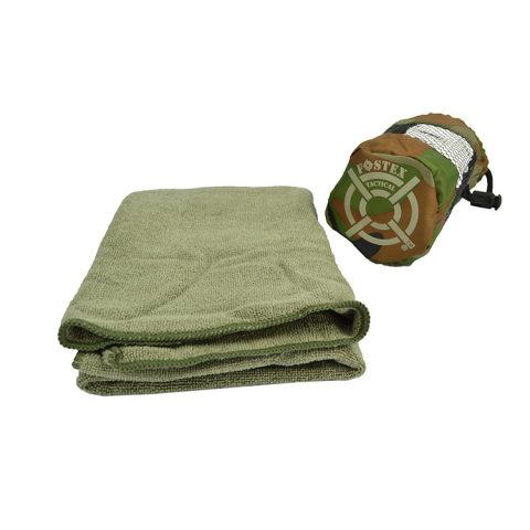 Ručník - Ručník mikrovlákno malý 80x40 cm ZELENÝ