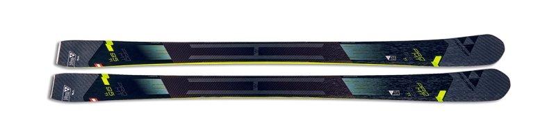 Šedé freeridové lyže bez vázání Fischer - délka 186 cm