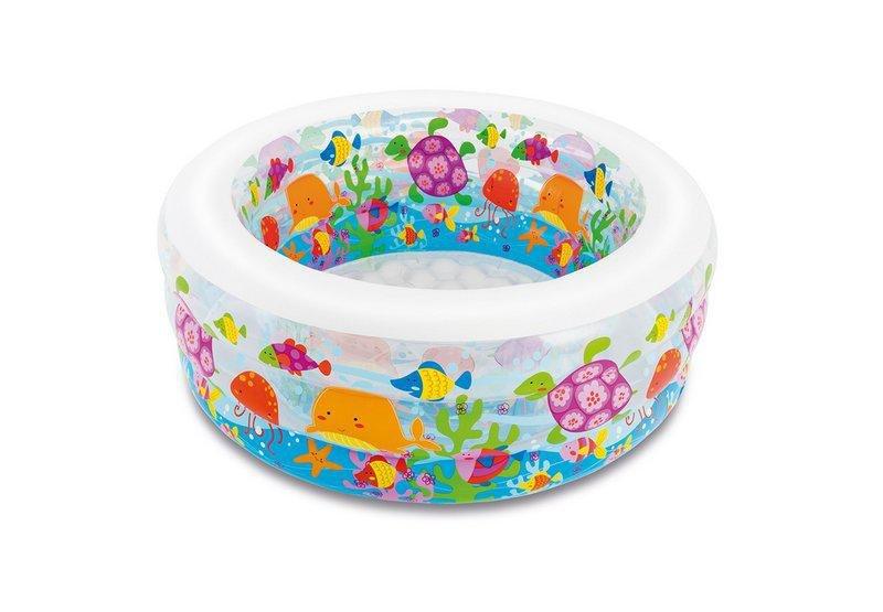 Dětský nafukovací nadzemní kruhový bazén INTEX - průměr 152 cm a výška 56 cm