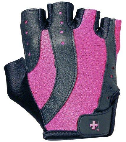 Růžové dámské fitness rukavice Harbinger